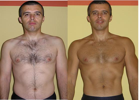 Rezultatul meu - creștere masă musculară
